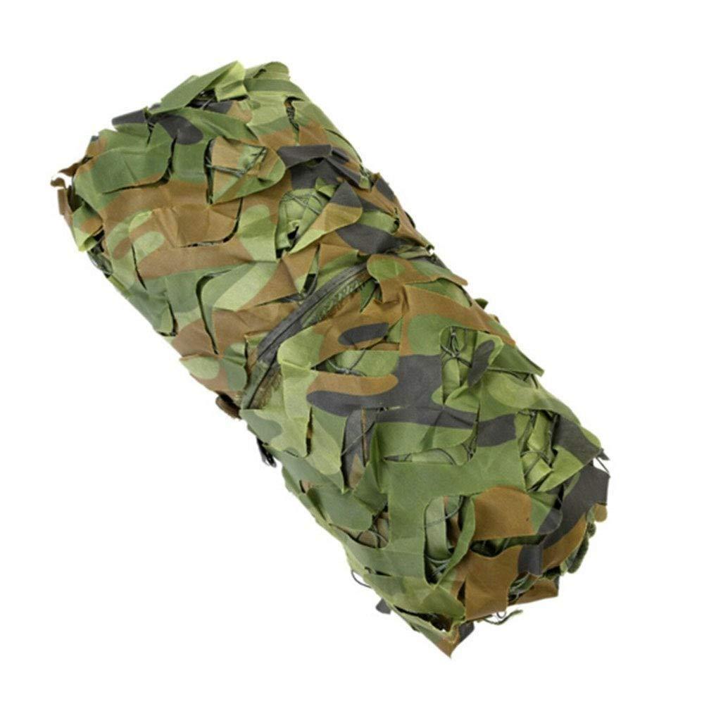 Ljdgr Filet Camo Visière Extérieure GR Le Filet de Camouflage Peut être utilisé pour la décoration de tir Couvrant Le Filet de Camouflage (Taille  3x10m) Armée Camo Filet (Taille   4x10m)  4x10m