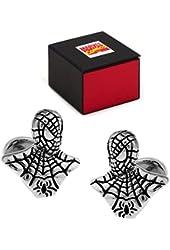 MARVEL SpiderMan 3-D Cufflinks FREE Marvel Gift Box Spider Man Cuff Links