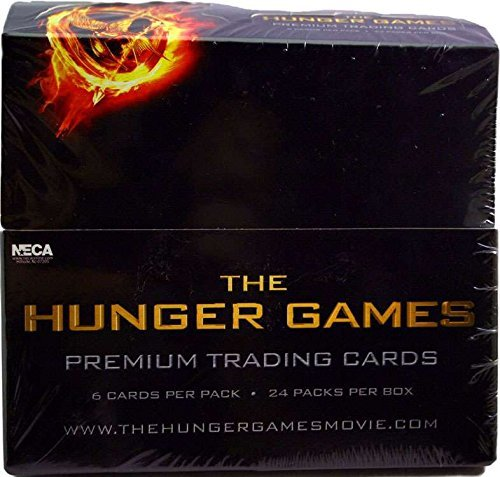 Neca Toys Trading Cards - The Hunger Games - BOX ( 24 Packs )