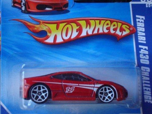 Ferrari F430 Wheel - 2010 Hot Wheels FERRARI F430 CHALLENGE HW Racing 6 of 10, #152 RED short card