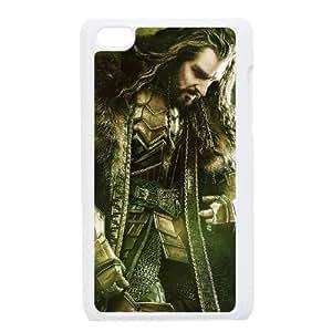 Thorin Oakenshield In The Hobbit Wide funda iPod Touch 4 caja funda del teléfono celular blanco cubierta de la caja funda EEECBCAAJ07448