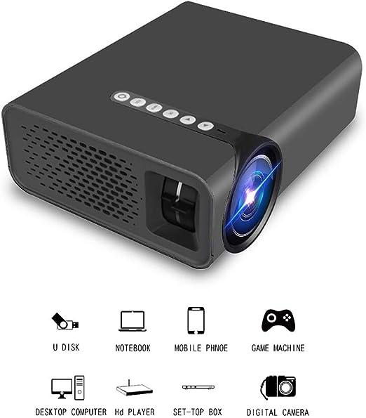 QLPP Proyector HD conectar a Smartphone, 130 Pulgadas Tamaño de ...