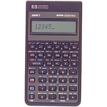 amazon com hp 32sii scientific calculator electronics rh amazon com HP Calculators Hewlett-Packard Calculator Repair