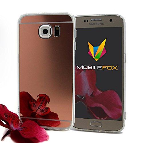 Mobilefox Schneewittchen Schutzhülle Spiegel TPU Case Samsung Galaxy S6 Rose