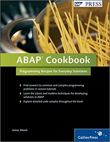 Buy ABAP Cookbook Book Online at Low Prices in India | ABAP Cookbook