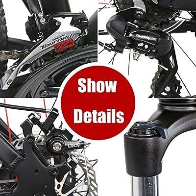 ZTIANR Bicicleta De Montaña, Bicicleta De Montaña 300APRO / 27.5 ...