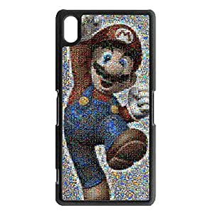 Cool Refined Shining Classical ACT Game Super Mario Phone Case Cover for Sony Xperia Z2 Super Mario Cute Cover Shell