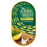 John West Kipper Fillets in Sunflower Oil 150g (Pack of 6)