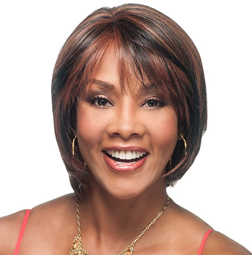 Vivica A. Fox CELIA-V New Futura Fiber, HAND-MADE, PS Cap Wig in Color FS427