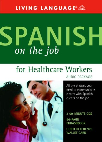 For sale Spanish the Job for Healthcare Workers Audio Package