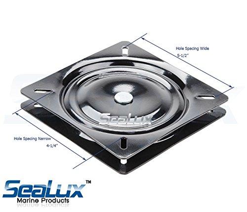 SeaLux Seating Accessories Universal Heavy Duty 360 degree  : 51HQF507IeL from www.ebay.com size 500 x 429 jpeg 35kB
