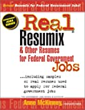 img - for Real Resumix & Other Resumes for Federal Government Jobs (Introducing Prep's New Government Jobs Series) book / textbook / text book