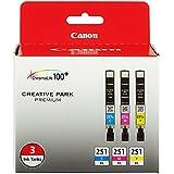 CNM6449B009 - Canon 251 XL Ink Cartridge - Cyan, Magenta, Yellow