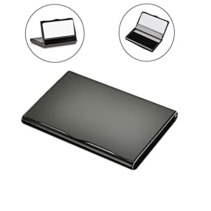 business card holder titanium stainless steel business card case holders for women and men - Metal Business Card Case
