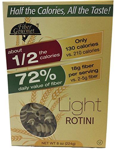 fibergourmet - Light Rotini Pasta - 8 (Light Pasta)