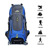 70 L Hiking Daypacks Outdoors Camping Backpack Rain Cover