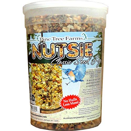 Pine Tree 8004 Nutsie Classic Seed Log, 80-Ounce (Seed Feeder Classic)