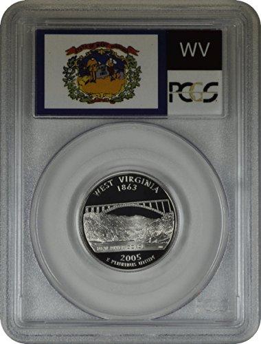 (2005 S West Virginia Statehood Quarter DCAM PCGS PR-70)