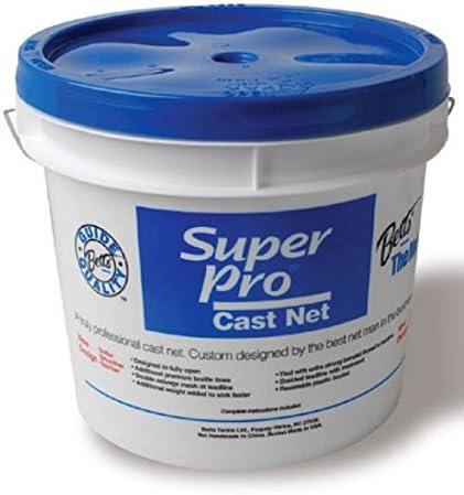 "Betts 26-8 Super Pro Mono Cast Net 8/' 3//16/"" Mesh"