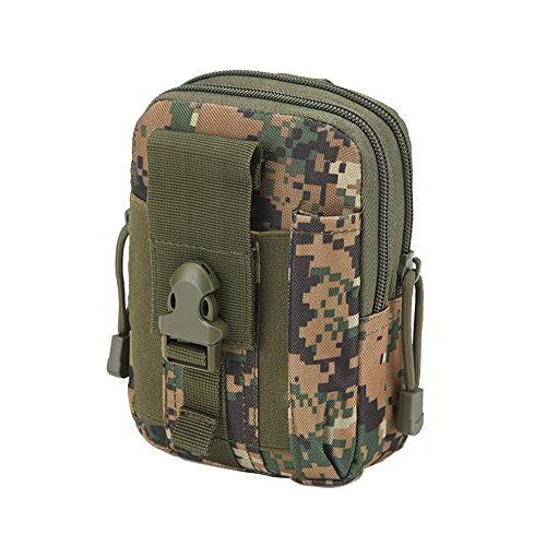 (BOLUOYI Messenger Bag for School Girls Teen,Women's Crossbody Bags,Waterproof 1000D Oxford Multipurpose Hunting Tactical EDC Belt Waist Bag,Multicolor 04)