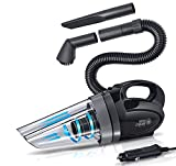 Car Portable Super Cyclone Handheld Vacuum Cleaner for Car/Vehicle 12V 150W, The maximum suction force: 4000Pa