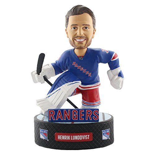 Forever Collectibles Henrik Lundqvist New York Rangers Baller Special Edition Bobblehead ()