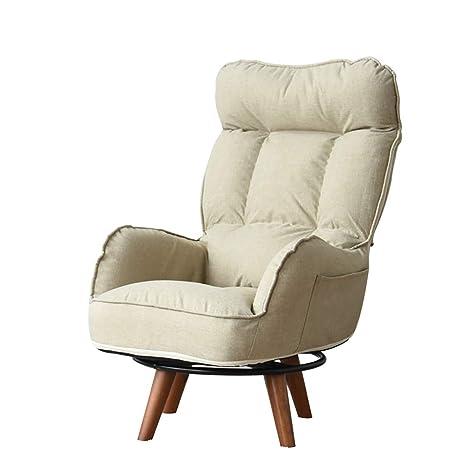 Chairs 360 Grados de Pliegue Gire el sofá Perezoso para el ...