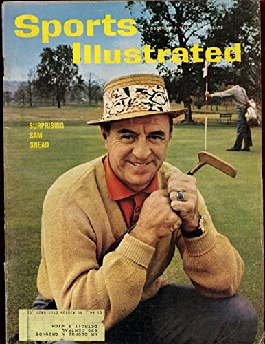 Dec 5 1960 Sports Illustrated Magazine With Sam Snead Golf Cover Ex+