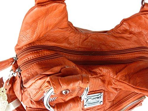 Sac L Femme Orange Pour Kumixi Porter L'épaule À CS6SwT