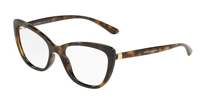 Amazon.com: Gafas Dolce & Gabbana DG 5039 502 Havana: Clothing