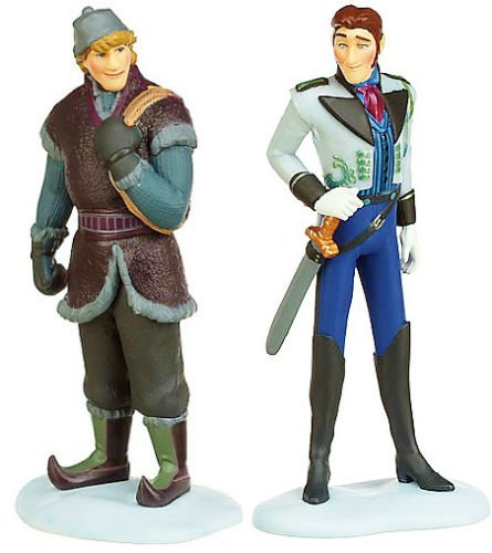 Hans-and-Kristoff-Disney-Frozen-Exclusive-Mini-PVC-Figure-Set-Loose-25-Doll-Toy-Cake-Toppers