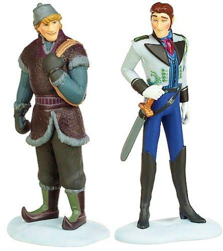 Hans and Kristoff Disney Frozen Exclusive Mini PVC Figure Set Loose 2.5