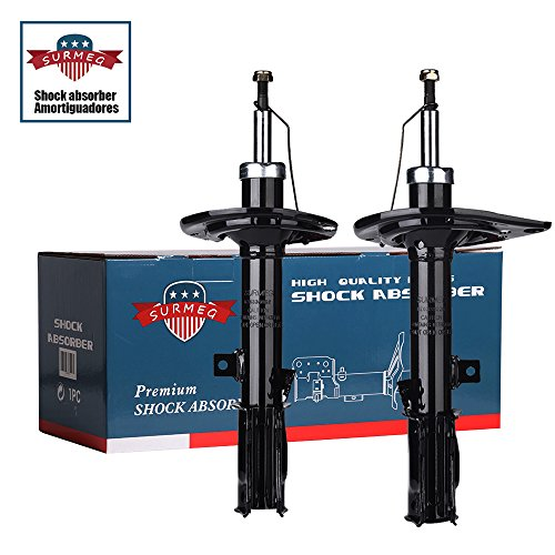 Camry Rear Absorber - SURMEG Rear Shocks & Rear Struts fits for 2007-2011 Toyota Camry & 2006-2012 Toyota Avalon (Pack of 2 ) Replacement 339043 ,339044 ,72309, 72310