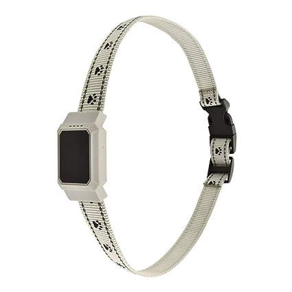 ZHENGDY Mascota Collar Impermeable Localizador GPS para Perros Perros Y Gatos,Localizador Anti-Perdida