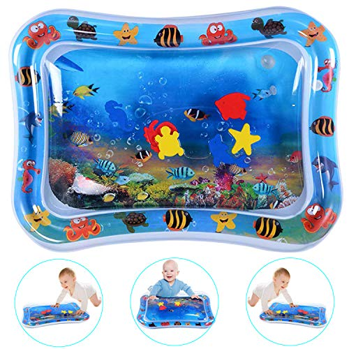Nice Dream Tummy Time Mat, Water Play Mat Baby Activity Center Toy Perfect for Enhancing Baby's Growth Sea World (26