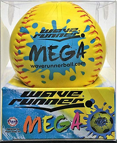 Wave Runner Sports Mega Ball #1 Water Ball for Skipping and Bouncing The Perfect Pool Ball and Ocean Ball (Random Ball)
