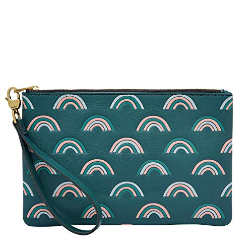 Fossil Wristlet Indian Teal