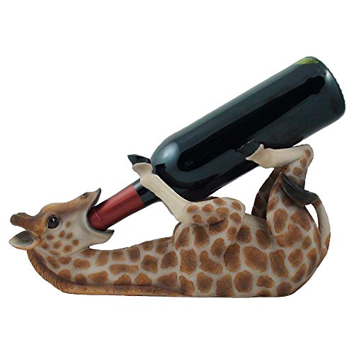 Drinking-Giraffe-Wine-Bottle-Holder-Statue-in-African-Jungle-Safari-Sculptures-and-Figurines-Decor-Wildlife-Animal-Wine-Racks-and-Stands-Gifts