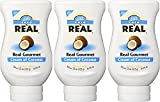 Coco Reàl, Cream of Coconut, 16.9 FL OZ Squeezable Bottle (Pack of 3)