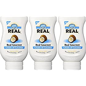 Coco Reàl, Cream of Coconut, 16.9 FL OZ Squeezabl...