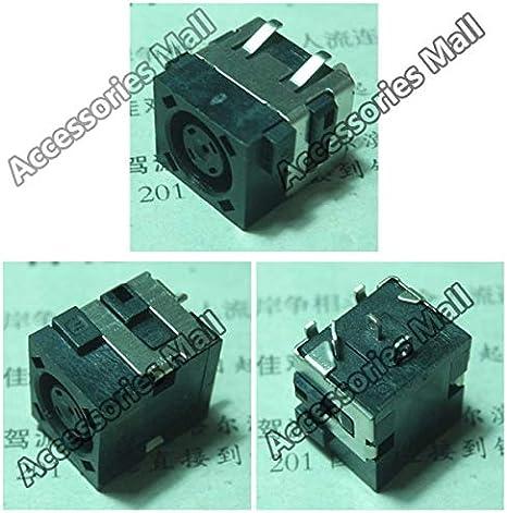 Cable Length: 20 PCS Computer Cables 5-100 pcs DC Power Jack Connector Socket for DELL 3521 2521 5537 5521 3531 5535 E6440 5721 5737 3537 DC Connector