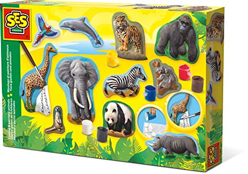 SES Creative Casting & Painting Animals Fun To Create