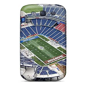 Durable Case For The Galaxy S3- Eco-friendly Retail Packaging(new England Patriots Stadium)