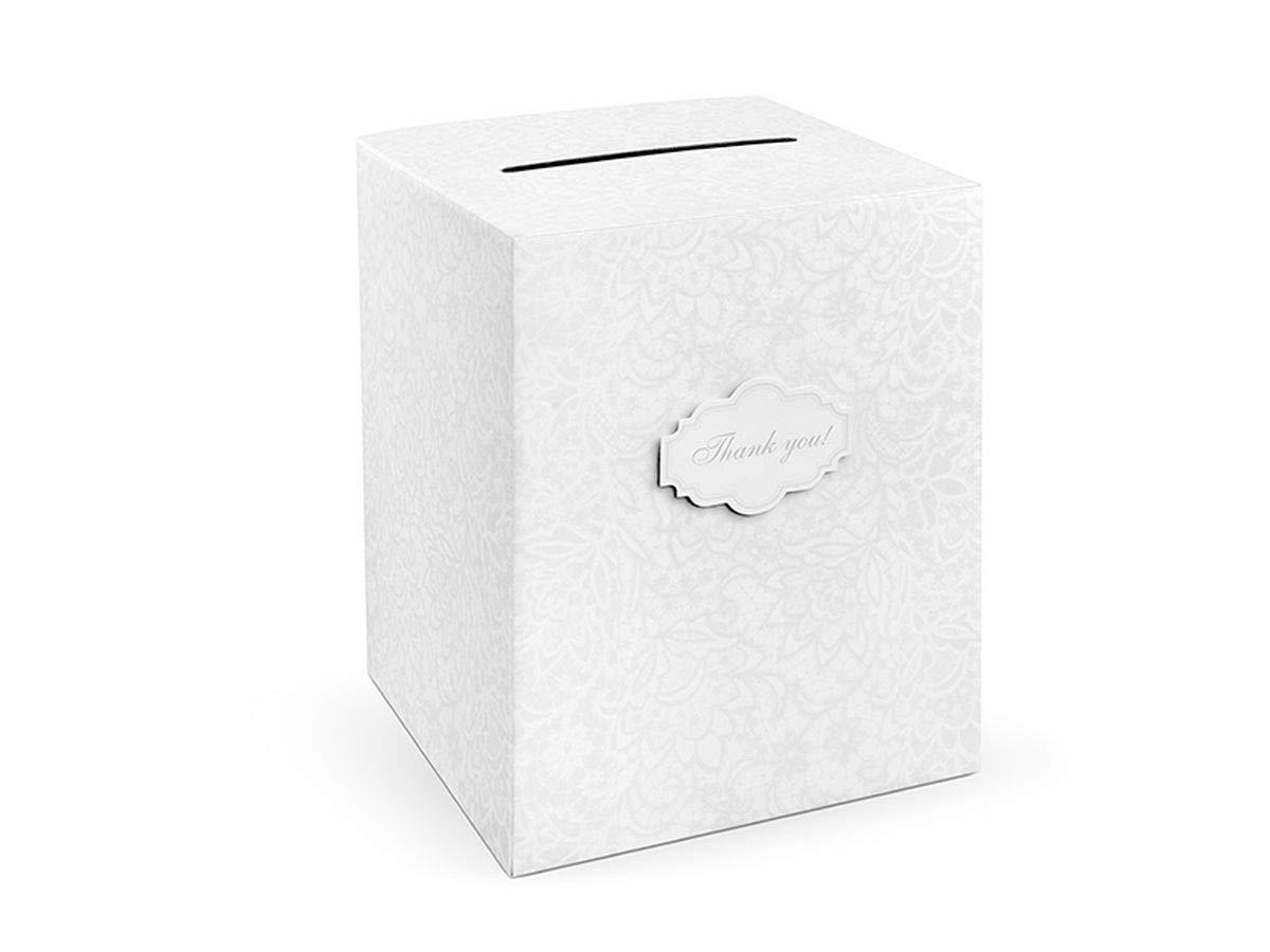 Gold Geldbox f/ür Hochzeitskarten Geschenkebox Hochzeitsfeier Zubeh/ör