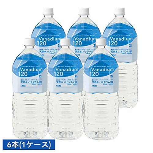 Price comparison product image Gold International Excellence Quality Award Fuji natural water vanadium 120 2L X 6 this