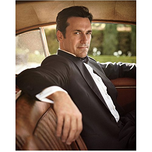 Mad Men Jon Hamm as Don Draper Seated in Car 11 x 17 Inch Poster/Litho