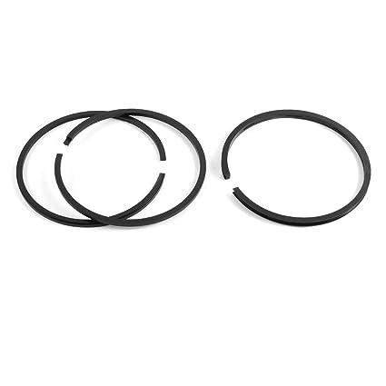 90 mm diámetro juego de aros de pistón para compresor de aire 3 piezas