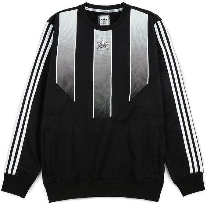 adidas Originals Men's EQT Crew Sweatshirt (XL, BlackWhite
