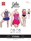 Jalie 3673 Violeta Leotard and Dress Open Back Skating Costume Sewing Pattern