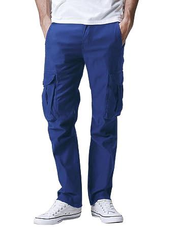 Match 6531- Pantalones Cargo Casual Múltiples Bolsillos para Hombre   Amazon.es  Ropa y accesorios 8257eef6d41f2